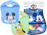 Disney Baby Mickey Mouse Friends Bibs 3pc Set for Boy