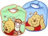 Winne the Pooh and Friends  2pc Terry Bibs Set for Boy