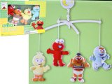 Sesame Street Baby Elmo and Friends Cirb Bed Musical Mobile