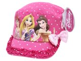 Disney Princess with Tangled Kids Hat Military Cap with Sequin Bow