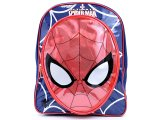 "Marvel Ultimate Spiderman Face Pocket Medium School Backpack  12"" Bag"