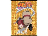 Naruto Garra  Kneel Down Fabric Wall Scroll -GE9929