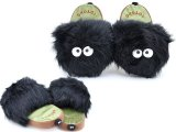 My Neighbor Totoro Dust Bunny Soot Sprite Plush Doll Slipper