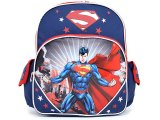 "Man of Steel Superman  School Backpack 12"" Medium Bag"