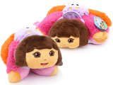 Dora The Explorer Dora Pillow Pet Plush Doll Cushion Pillow Pad - 11in