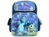 Monsters University Sulley and Mike Large School Backpack 16in Large Bag
