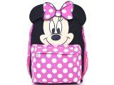 "Disney Minnie Mouse with Ear School Backpack 12"" Bag"