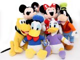 Disney Mickey Mouse and Friends Plush Doll Collection Set