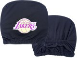 New Los Angeles Lakers  Car Head Rest Cover -2PC