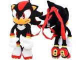 "Sonic The Hedgehog Shadow Plush Doll Bag Custume Backpack -21"""