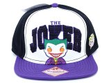 Funko Batman Joker Pop Heroes Snapback Hat  Flat Bill Cap