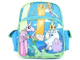 "Adventure Time 12"" School Backpack with Lady Rainicorn Small Bag"