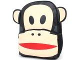 "Paul Frank Julius Big Face Puffy Ears School Backpack 16"" Bag"