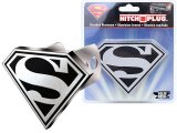 DC Comics Super Man Shield Logo Auto Hitch Cover Plug