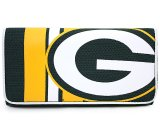 NFL Green Bay Packers Check Book Wallet Ladies Jersey Clutch