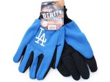 LA  Dodgers Utility Work Men's Gloves MLB Apparel Accessory