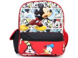 "Disney Mickey Mouse with Friends School Backpack 12"" Bag -Happy Go Lucky"