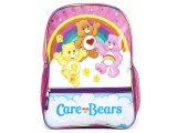 "Care Bears Large  School Backpack 16"" Bag"