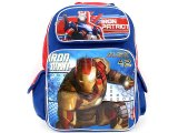 "Marvle IronMan 3 School Backpack  Large 16""  Bag : Iron Patriot"
