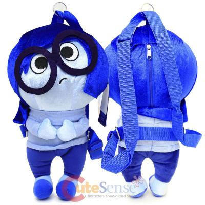 7d4ac59b2c3 Disney Inside Out Sadness Plush Doll Backpack Pillow Cushion at ...