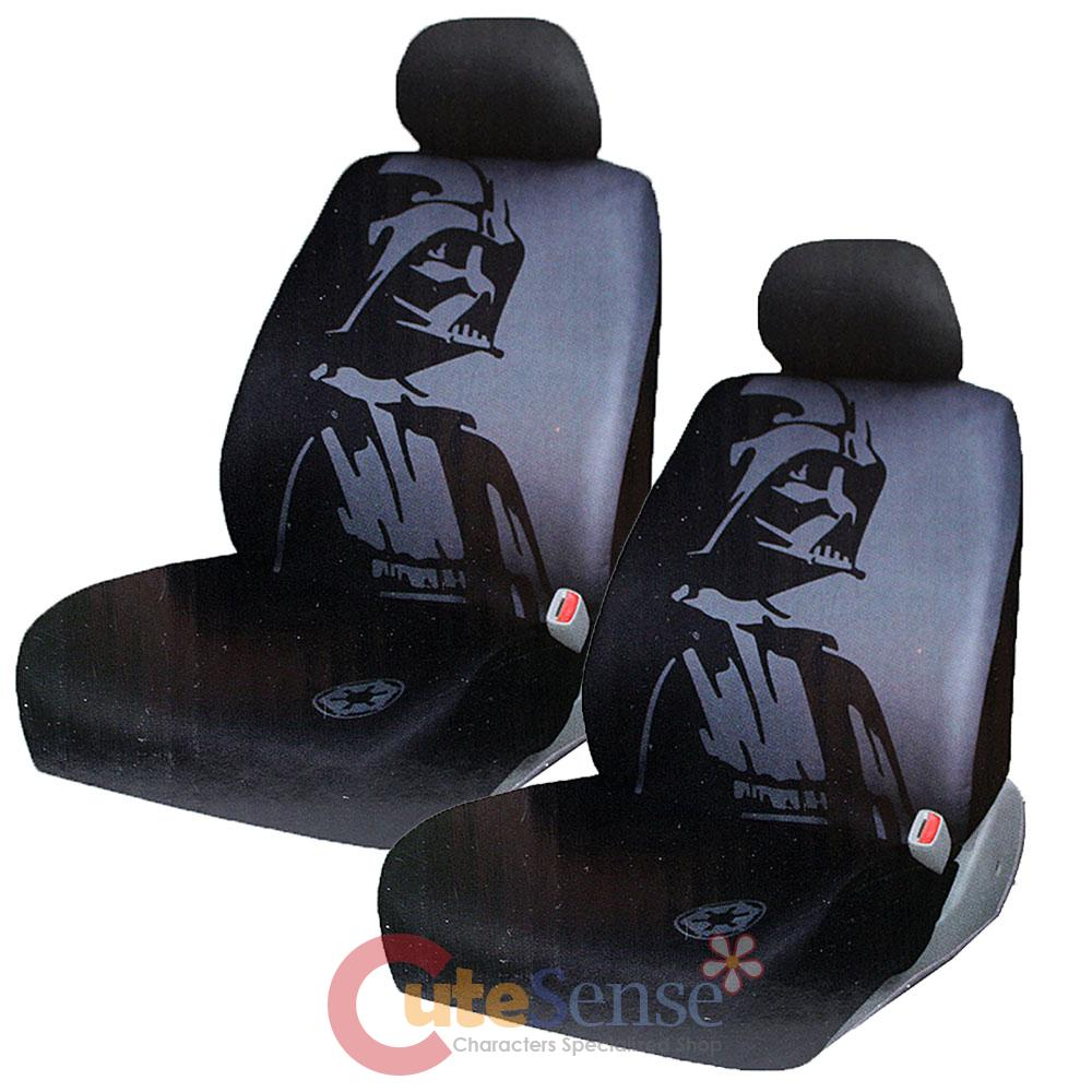 Star Wars Darth Vader 2 Front Car Seat Cover Set Auto