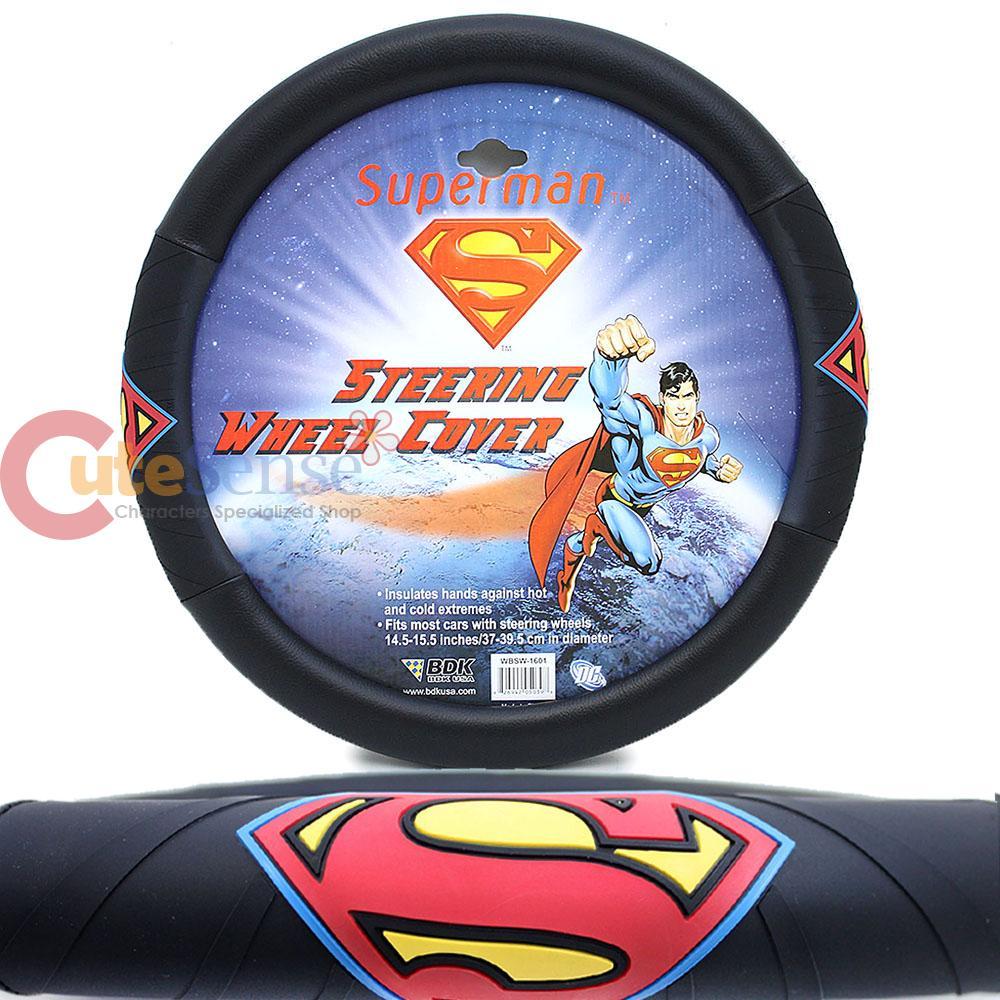 Marvel Superman Car Steering Wheel Cover Color Logo | eBay