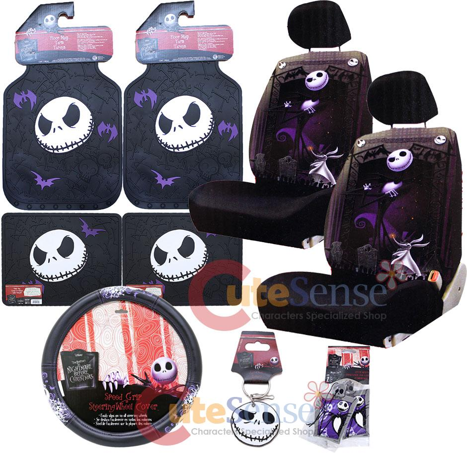 Car Accessories: Nightmare Before Christmas Car Accessories