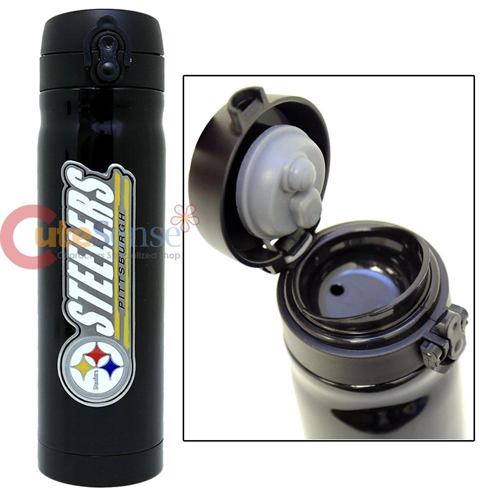 Pittsburgh Steelers Tumbler Vacuum Insulated Travel Cup