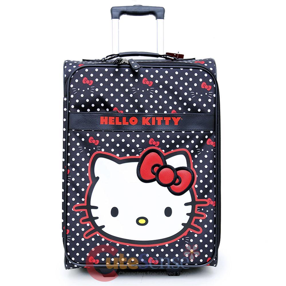 adult hello kitty suit case