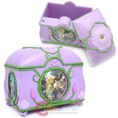 Disney TinkerBell Fairies Alarm Clock with Jewelry Box in One