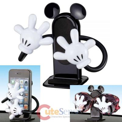 Disney Mickey Mouse Flexible Arm Cell Phone Holder Auto Accessories