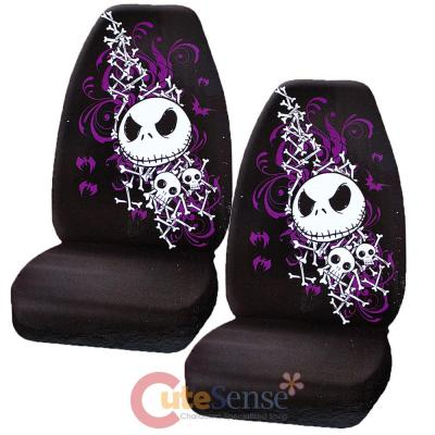 Nightmare Before Christmas Jack Bones CAR Seat Cover SET NBC Auto ...