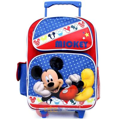 c55a6a3939f Disney Mickey Mouse Large School Rolling Backpack 16