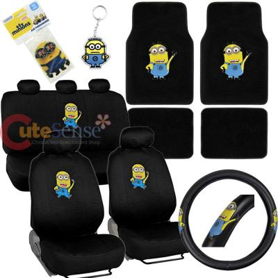 Minion Car Seat Covers