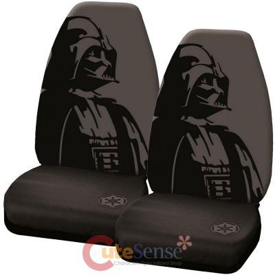 Star Wars Darth Vader Front Car Seat Cover Set High Back Seat