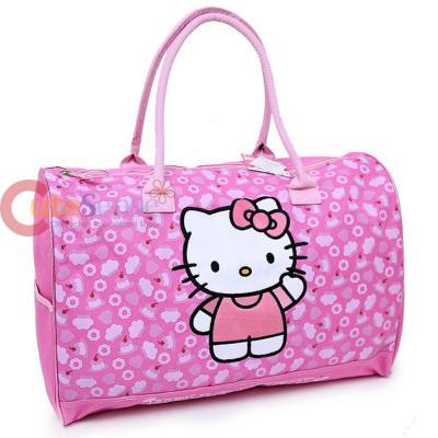 e447e518edba Sanrio Hello Kitty Duffle Bag Travel Gym 20