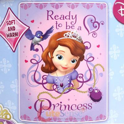 Sofia The First Microfiber Twin Plush Throw Blanket Ready To Be A Impressive Sofia The First Throw Blanket