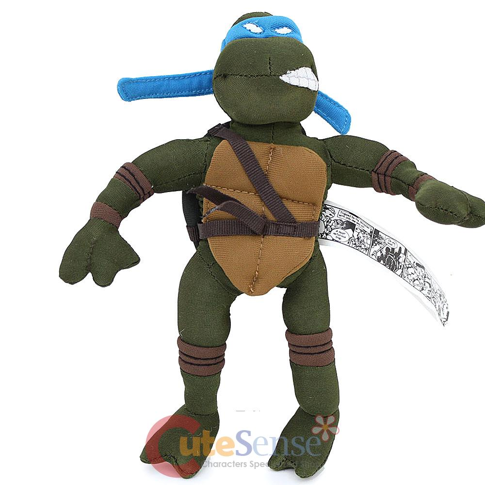 Teenage Mutant Ninja Turtles 2003 Toys : Teenage mutant ninja turtles leonardo quot action plush doll
