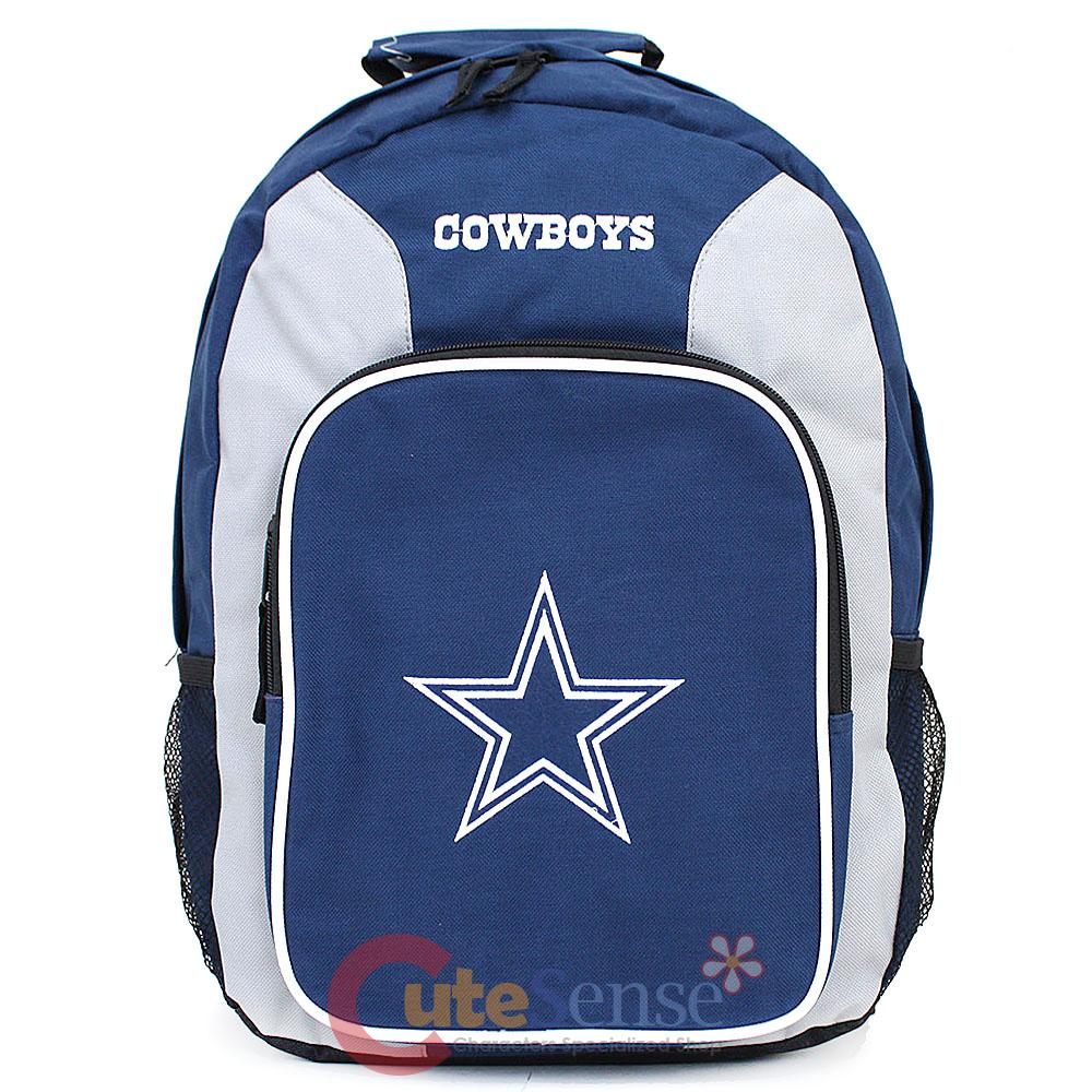 ... about NFL Dallas Cowboys Large School Backpack Book Bag Team Logo