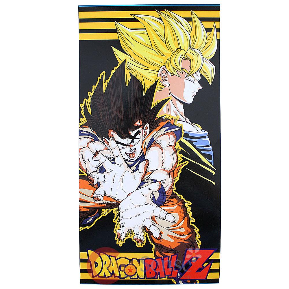 Ddragon ball z goku super saiyan fireball beach towel for Dragon ball z bathroom