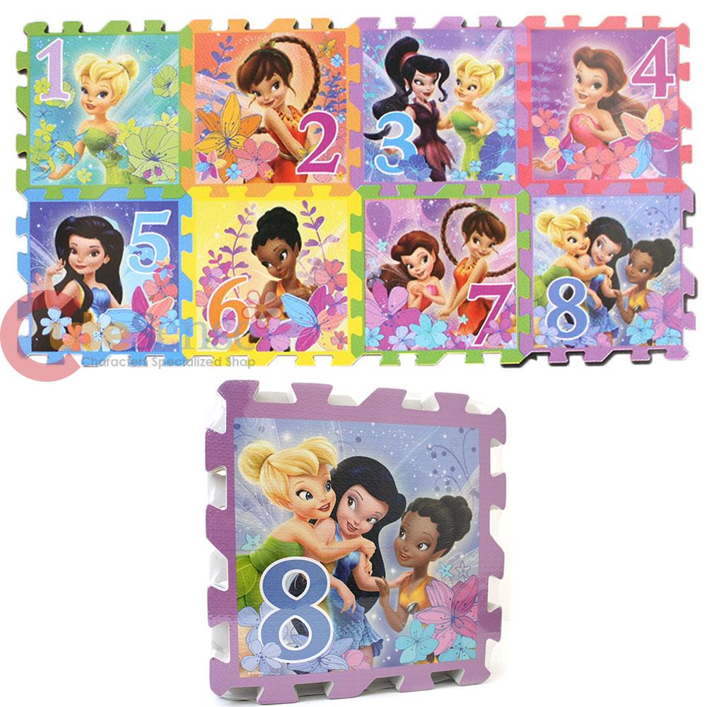 Disney Tinkerbell Fairies Soft Foam Puzzle Mat Hopscotch