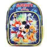 "Disney Mickey Mouse Friends School Backpack10"" Small Toddler Bag -Blue"