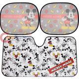 Disney Mickey Mouse Windshield and Rare Window  Sun Shade 3pc Set