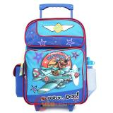 "Scooby Doo Large School  Roller Backpack16"" Rolling Bag : Hot Dog Pilots"