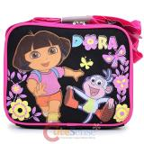 Dora The Explorer Dora & Boots Kids School Lunch Bag Box : Flower Garden