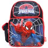 "Ultimate  Spider Man Medium  School Backpack 14""  Bag -Sling In Web"