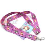 Sofia The First  Lanyard  Key Chian ID holder