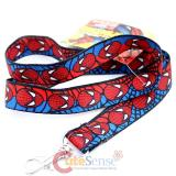 Marvel SpiderMan Face Lanyard  Key Chian ID holder