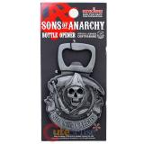 Sons of Anarchy Skull Metal Magnetic Bottle Opener