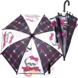 Monster High Kids Umbrella with Hook Handle